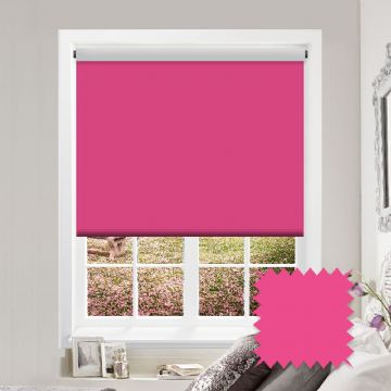 Blackout Roller Blind - Bermuda Raspberry